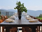 Tuscan al fresco dining - wonderful
