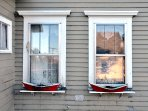 Several homes on Beals have Gingerbread details or quirky coastal decor.