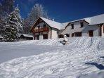 Villa Victoria - exterior winter