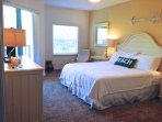 Spacious King Suite opens to large porch