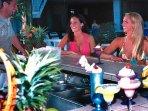 North Tower Tiki-bar, poolside..