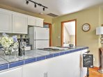 This is apartment provides the perfect home-away-from-home experience.