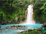 World Famous Rio Celeste is a Day Trip from Here!