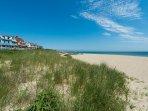 Oak Bluffs town beach, also known as Inkwell Beach