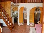 Italian Villa for rent near Rome, Suite Cedro