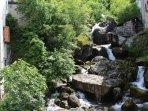 'Tofee' is one of the three mountain rivers in Nesso and runs near Casa La Perla.