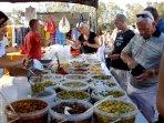 La Cala Market, every Wednesday and Saturday, lots of choice of fruit, veg, deli, clothing