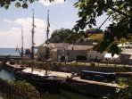 Charlestown's renowned tall ships