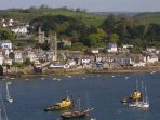 Stroll the delightful streets of Fowey or take a ferry to Mevagissey and back