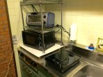 Oven toaster , microwave and IH cooking heater