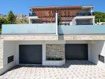 Garage for 3-4 cars (left side Villa Paradise, right side Villa Bane)