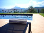 Panoramic views from the swimming pool