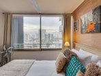 City views from your bed