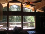 Family room has large scenic views.