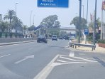 Turn right just here at El Rodeito restaurant and just after Casino Marbella, on the right