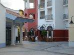 Irish bar and Italian restaurant in the resort centre
