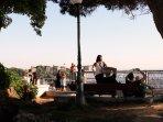 Viewpoint 'Senhora do Monte' - Best view over Lisbon just a few steps