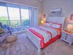 Breathtaking Queen Bedroom Master Suite w/En-Suite Bath, Private Balcony & Flat Screen TV