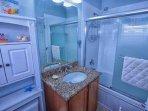En-Suite Bath to Twin Suite w/Shower & Tub Combination - View #2