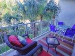 Private Living Area Balcony Overlooking Waterway