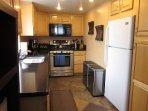 Middle floor kitchen area
