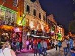 TEMPLE BAR - Dublin's 'Party District' - 20 minute walk