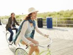 Jogging on the Beach and Boardwalk it Great and Refreshing!  Ride your Bike on the Atlantic City Boa