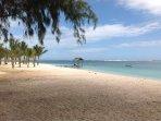 Secret snorkel beach at Le Morne