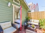 Your private patio oasis!