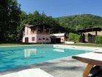 Casa Capannina and pool