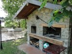 Wood oven and bbq