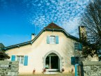 Character cottage with pool south west France