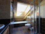 bathroom 2, upstairs
