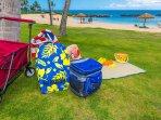 Beach amenities