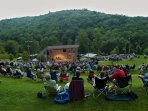 Blue Ridge Music Center 5 miles from Cabin on Parkway