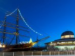 Dundee has many visitor attractions including RRS Discovery