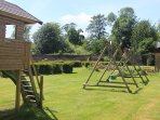 The walled garden with play are is only a few minutes walk away.