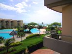 Awesome ocean view from your two balcony terraces!