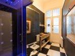 Kitchen and Shower