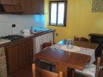 particolare cucina soggiorno Girasole