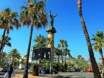 The famous town of Puerto   Banus - just 10 minutes
