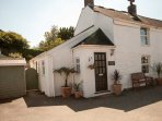 Blacksmith's Cottage - a semi detached character cottage with off road parking