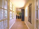 Hallway - bamboo flooring thought