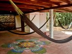 hammocks all over the house to relax and ejoy