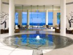 The beautiful and relaxing Pacifica spa
