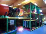 Indoor play area for small children (small charge)