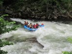 Rafting, the Appalachian Trail, and pontoon boat rentals are a 25-40' drive.
