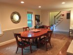 Large Dining Room seats 8 people