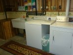 Laundry room in lower level