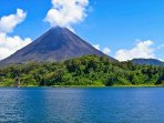 Mount Arenal and Lake